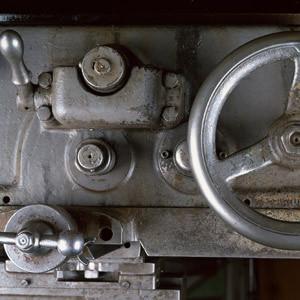 町工場の旋盤